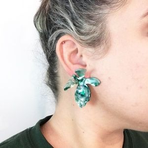 CLOSET REHAB Jewelry - Lily Stud Earring in Mint